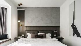 110平米三现代简约风格卧室装修图片大全