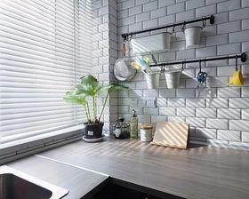 140平米四北歐風格廚房設計圖