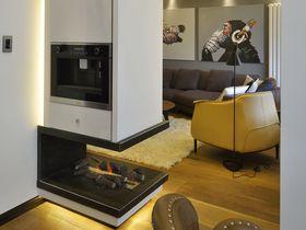 10-15万120平米公寓现代简约风格走廊图片