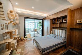 140平米四室四厅现代简约风格阳光房图片