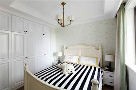 140平米復式美式風格臥室效果圖