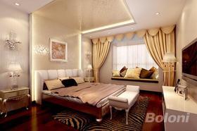 140平米四室兩廳歐式風格臥室裝修效果圖