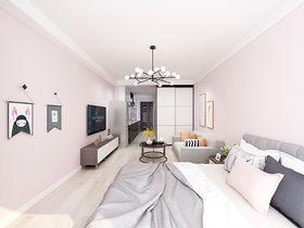50平米公寓北欧风格客厅图片