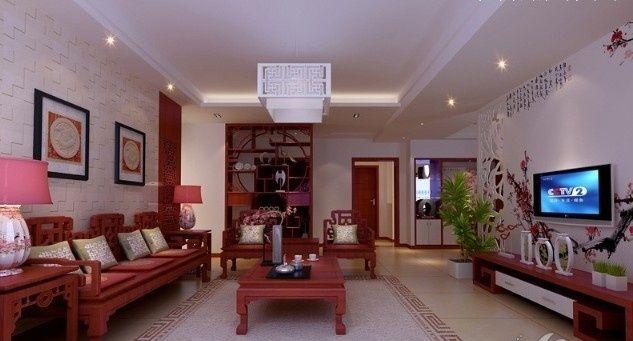 25萬300平米中式別墅裝修 感受中國傳統文化