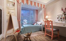 110平米三室两厅法式风格儿童房装修图片大全