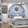 140平米三室两厅地中海风格卧室效果图