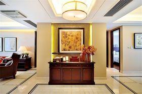 100平米三室两厅美式风格玄关装修图片大全