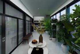 140平米三室两厅其他风格阳台图片