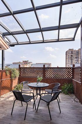 140平米复式美式风格阳台图片