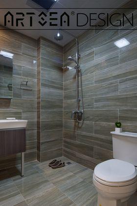 20万以上100平米三室两厅混搭风格卫生间图