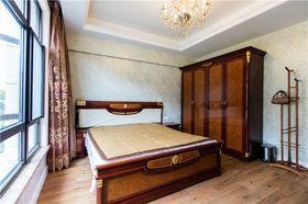 10-15万120平米三室一厅欧式风格卧室设计图