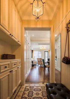 140平米三室两厅美式风格玄关图片