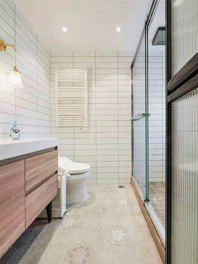 90平米三室两厅北欧风格卫生间装修案例