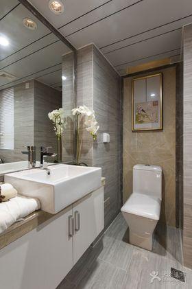 经济型110平米三室两厅中式风格卫生间图片大全