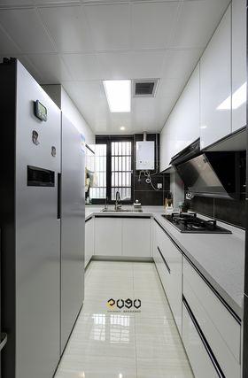 80平米三室两厅混搭风格厨房装修图片大全
