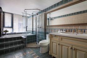 3-5万90平米三室一厅现代简约风格卫生间图