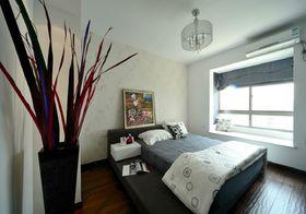 5-10万110平米三室两厅现代简约风格卧室装修图片大全
