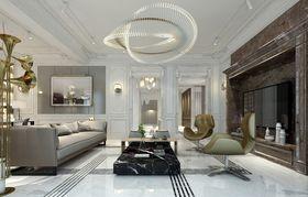 140平米四室三厅法式风格客厅效果图