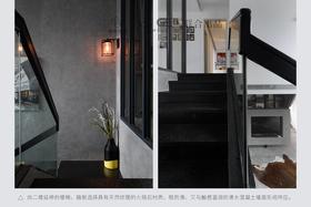 140平米四室两厅现代简约风格楼梯间设计图