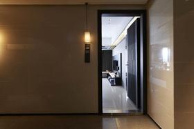 3-5万50平米一室一厅现代简约风格走廊设计图