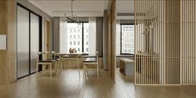 120平米四室兩廳混搭風格餐廳圖