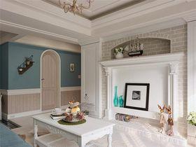 110平米三室两厅美式风格客厅装修案例