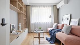50平米北欧风格客厅装修案例