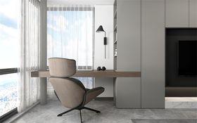 豪华型120平米三室两厅现代简约风格阳台图片