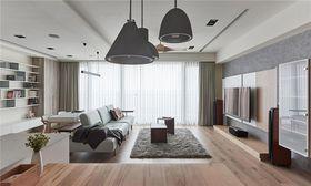 110平米北欧风格客厅图