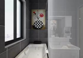 100平米三现代简约风格卫生间装修效果图