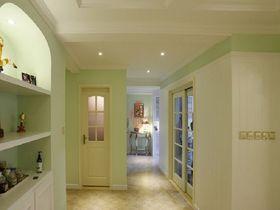 130平米三室两厅欧式风格玄关图