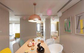 富裕型120平米四室两厅混搭风格餐厅图片大全