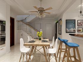 140平米四室两厅欧式风格餐厅图片