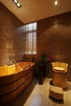 120平米三室两厅东南亚风格卫生间装修效果图