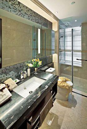 10-15万130平米三室两厅美式风格卫生间欣赏图