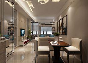 30平米超小户型中式风格客厅装修案例