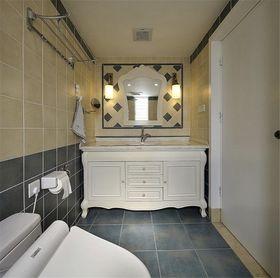 120平米三室两厅地中海风格卫生间装修效果图