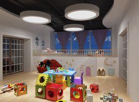 140平米现代简约风格儿童房装修案例