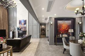 140平米别墅美式风格走廊欣赏图