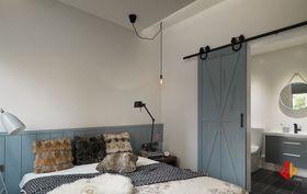 30平米超小户型北欧风格卧室效果图