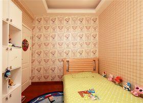 富裕型110平米三室两厅欧式风格儿童房效果图