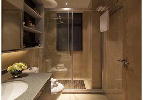 90平米三室一厅现代简约风格卫生间图片大全