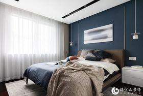 120平米現代簡約風格臥室圖片大全