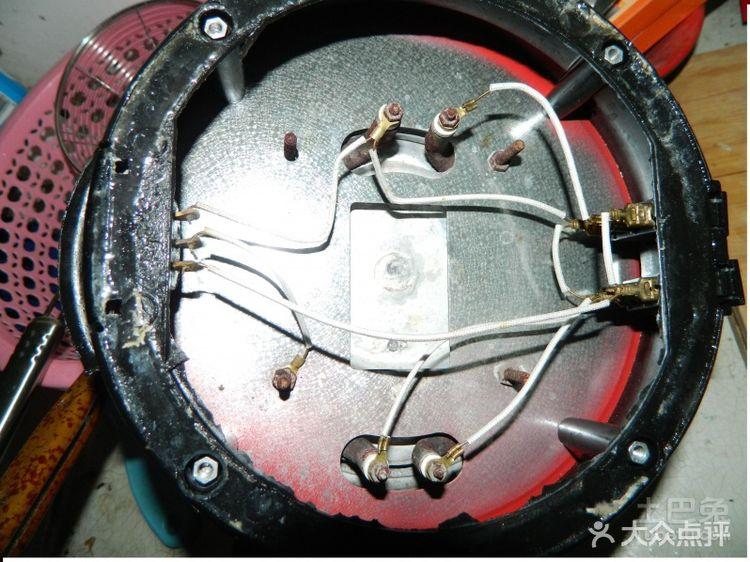 多星电热锅接线图