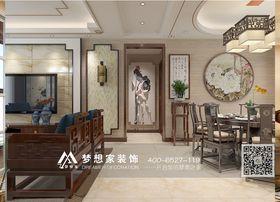 经济型130平米四室两厅中式风格走廊图片大全