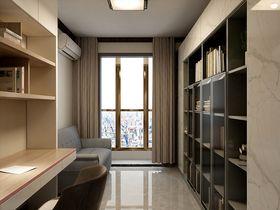 140平米三室两厅混搭风格书房图片大全