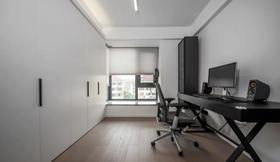 110平米三室兩廳現代簡約風格書房圖片大全