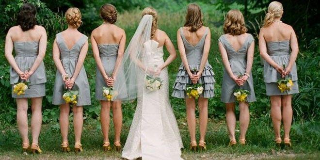 我们如何挑选伴娘的服装呢