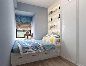 90平米三室兩廳現代簡約風格兒童房設計圖