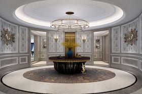 140平米別墅中式風格玄關裝修案例